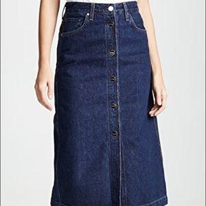 Denim skirt by Goldsign